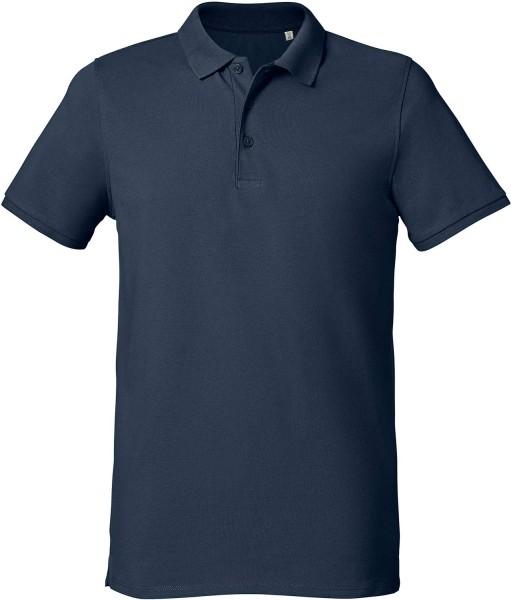Competes - Klassisches Poloshirt Bio-Baumwolle - french navy