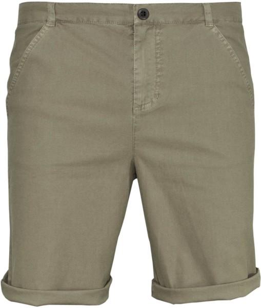 Walkshort - Shorts aus Bio-Baumwolle - timber/taupe