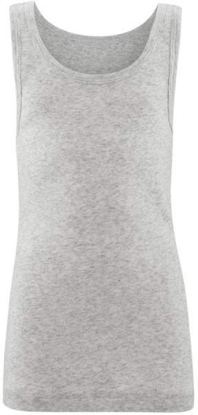 Kinder Unterhemd aus Bio-Baumwolle - grey melange