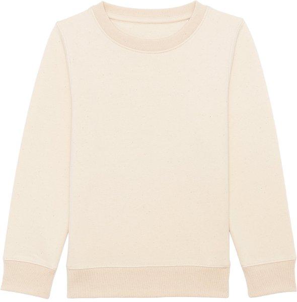 Kinder Sweatshirt aus Bio-Baumwolle - natural raw