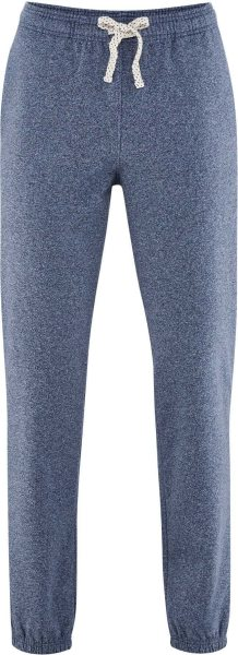 Jogginghose Biobaumwolle - cloud blue melange