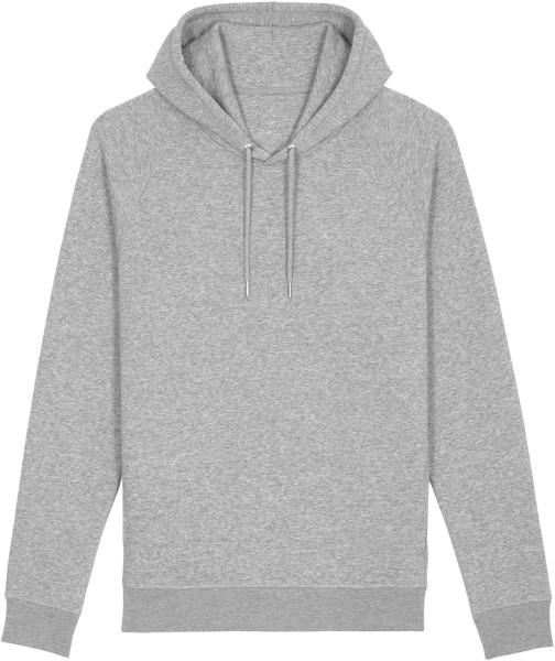 Unisex Raglan-Hoodie aus Bio-Baumwolle - heather grey