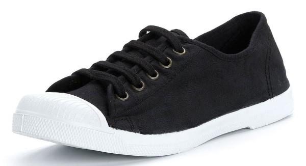 Basket - Schnürschuhe aus Bio-Baumwolle - negro - Bild 1