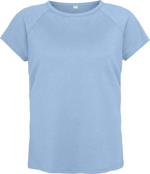 Mantis Organic T-Shirt - light denim