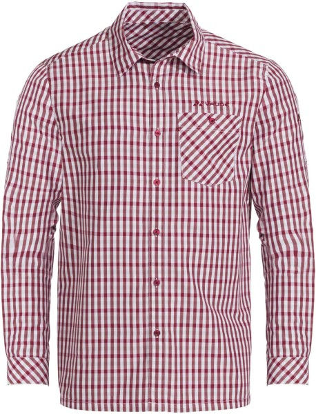 Hemd Albsteig LS Shirt - salsa/red