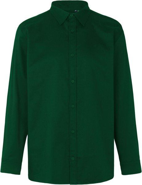 Hemd aus Fairtrade Bio-Baumwolle - bottle green