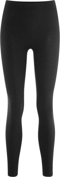 Lange Frauenunterhose - Biobaumwolle schwarz