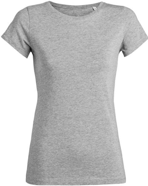 Wants - T-Shirt aus Bio-Baumwolle - grau-meliert - Bild 1