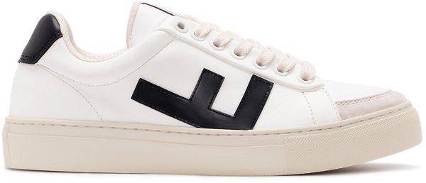Classic 70's Sneaker - white black grey
