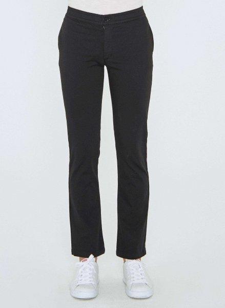Wide Fit Chino-Hose aus Bio-Baumwolle - black