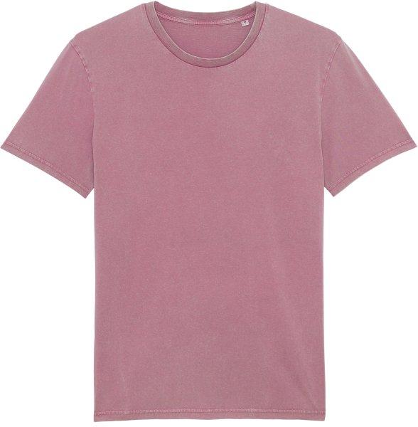 Vintage T-Shirt aus Bio-Baumwolle - g. dyed aged mauve