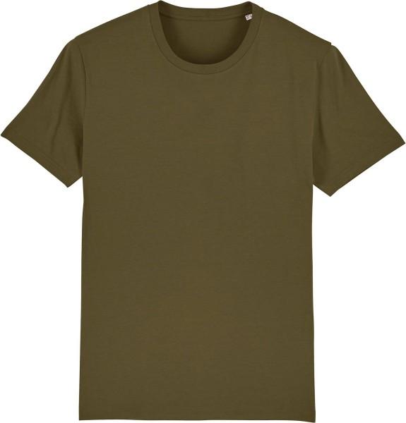 T-Shirt aus Bio-Baumwolle - british khaki
