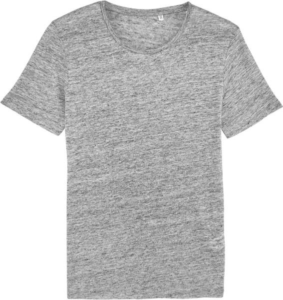 Enjoys Linen - T-Shirt aus Leinen - mid heather grey