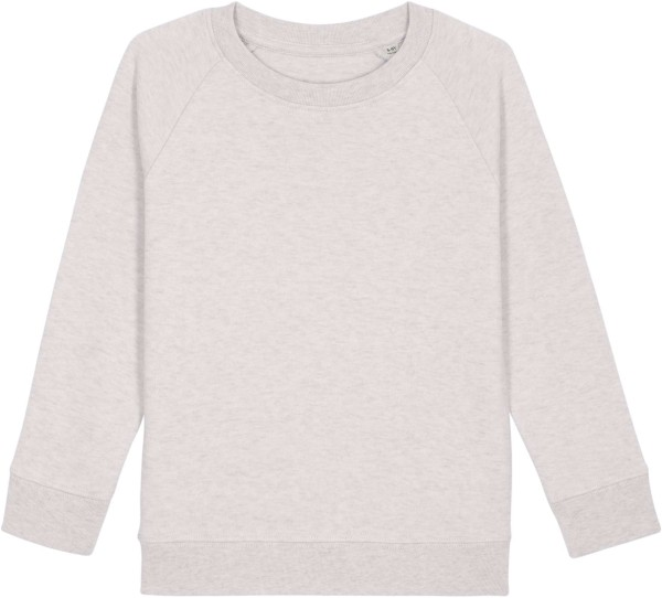 Kinder Sweatshirt aus Bio-Baumwolle - cream heather grey