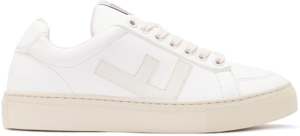 Classic 70's Sneaker - all white grey