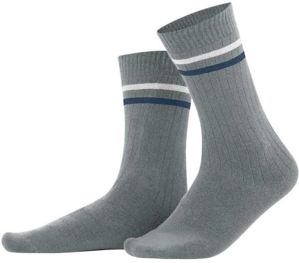 Herren Socken aus Bio-Baumwolle – grey melange