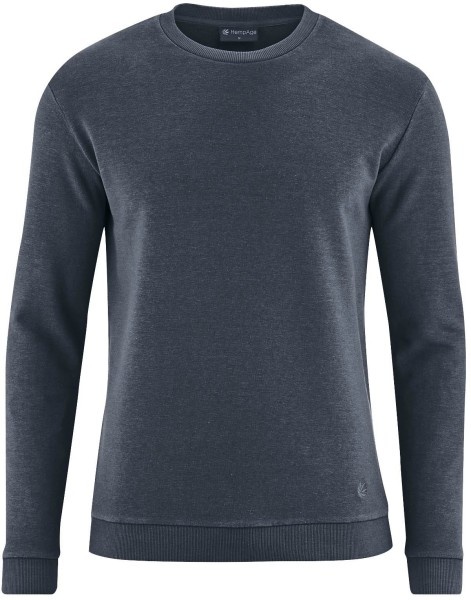 Sweatshirt aus Hanf und Bio-Baumwolle - dark