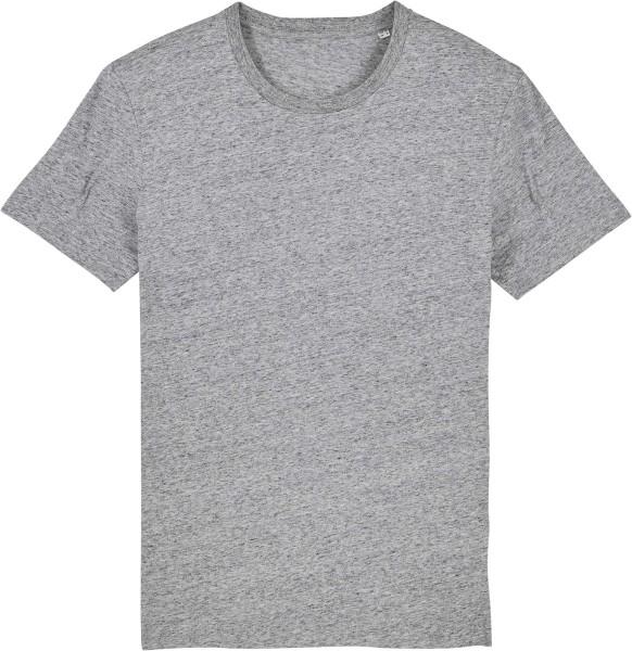 T-Shirt aus Bio-Baumwolle - slub heather grey