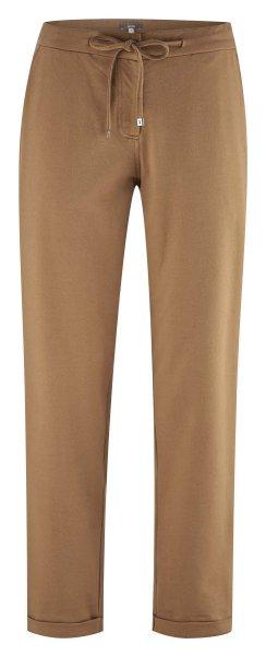 Hose aus Bio-Baumwolle - camel