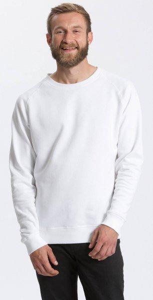 Organic Sweatshirt Fairtrade weiss - Bild 1