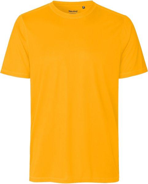 Performance T-Shirt aus recyceltem Polyester - orange