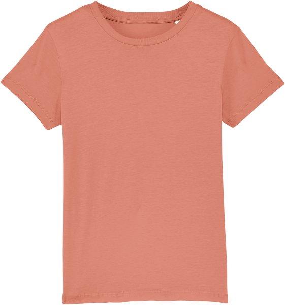 Kinder T-Shirt aus Bio-Baumwolle - rose clay