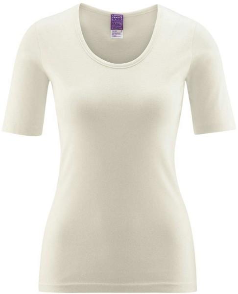 1/4 Arm Unterhemd - Biobaumwolle natur
