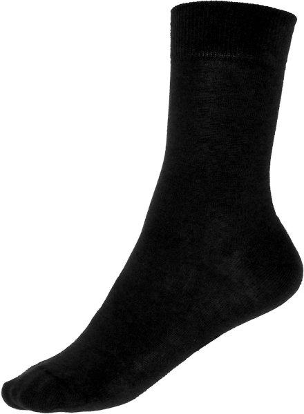 Premium-Socken aus Bio-Baumwolle - schwarz