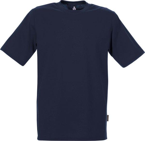 Klassisches T-Shirt aus Baumwolle - navy