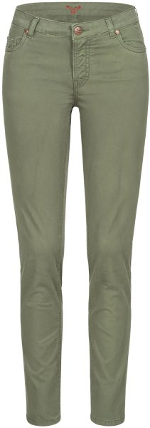 Svenja - 5 Pocket Hose aus Bio-Baumwolle - light khaki