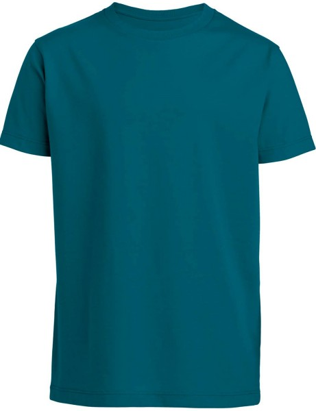 Kinder T-Shirt Bio-Baumwolle - petrol
