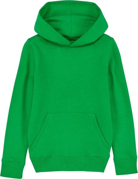 Kinder Hoodie aus Bio-Baumwolle - fresh green