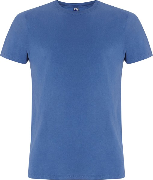 T-Shirt aus Fairtrade Bio-Baumwolle - faded denim