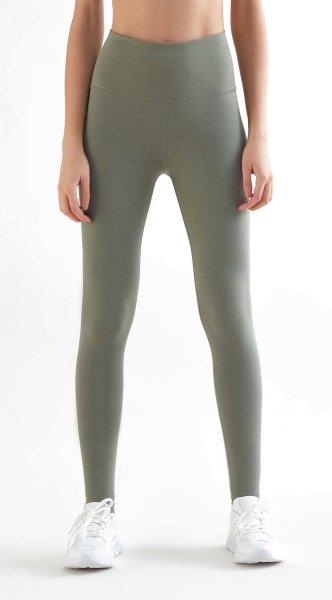 Active Leggings aus Bio-Baumwolle & Elastan - light green
