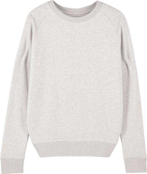 Sweatshirt aus Bio-Baumwolle - cream heather grey