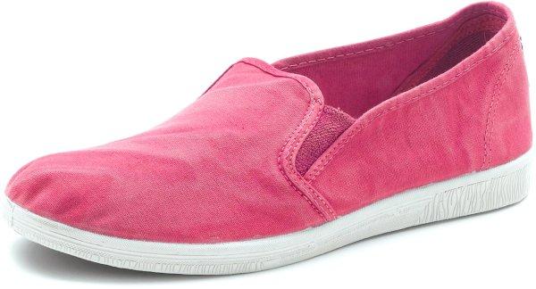 Cangrejo Elasticos Enzimatico - Slipper aus Bio-Baumwolle - rosa