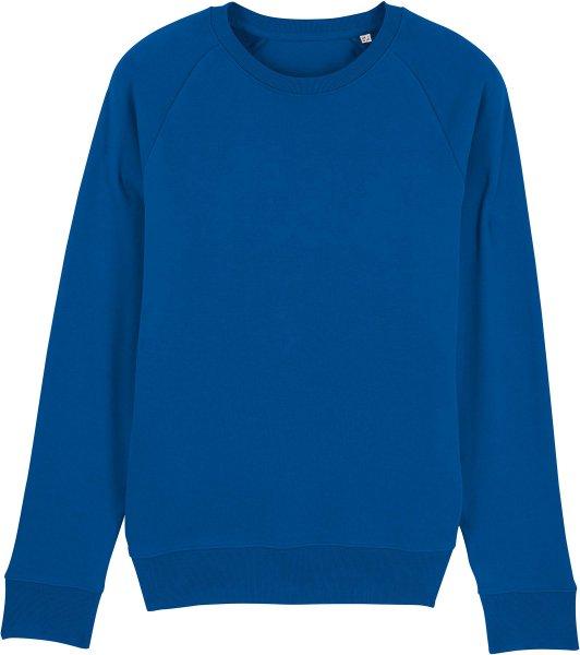Sweatshirt aus Bio-Baumwolle - majorelle blue