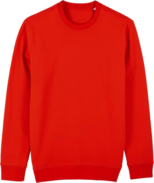 Unisex Sweatshirt aus Bio-Baumwolle - bright red