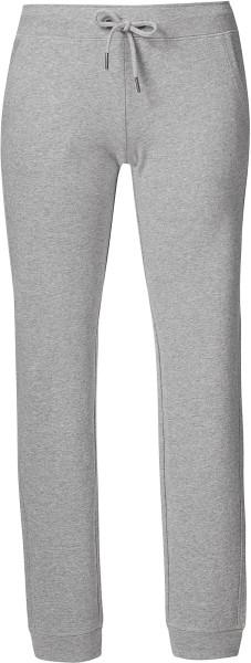 Traces - Jogginghose aus Bio-Baumwolle - grau meliert