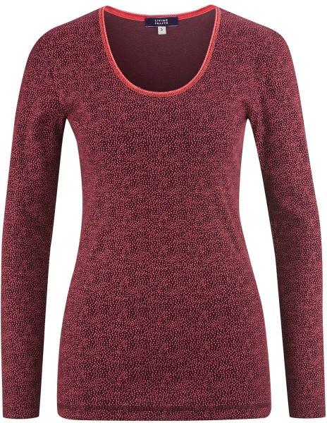 Schlaf-Shirt aus Bio-Baumwolle - barolo dots