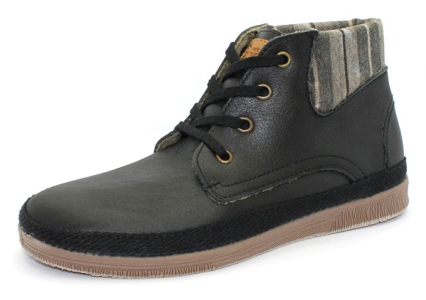 Bota Cuello Leather - Schnürschuhe aus Leder - negro - Bild 1