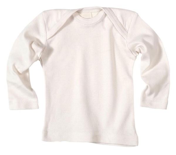 Baby Langarm-Hemd aus Bio-Baumwolle - natural - Bild 1