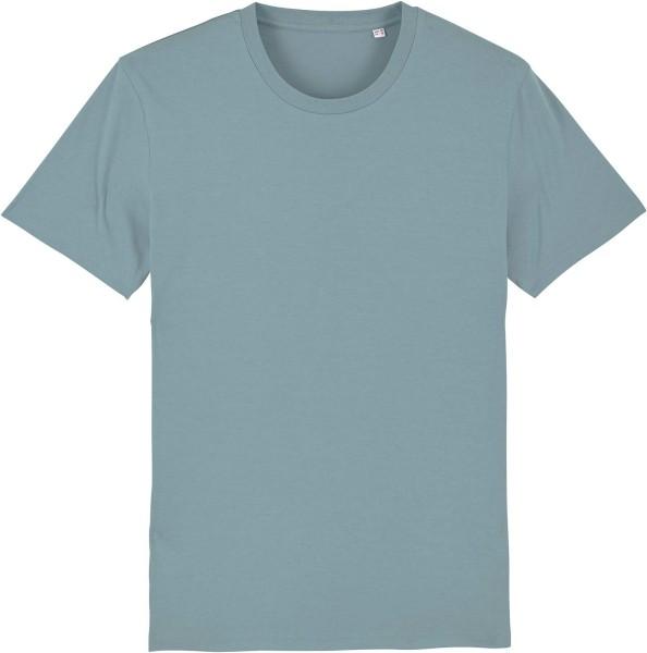 T-Shirt aus Bio-Baumwolle - citadel blue