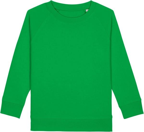 Kinder Sweatshirt aus Bio-Baumwolle - fresh green