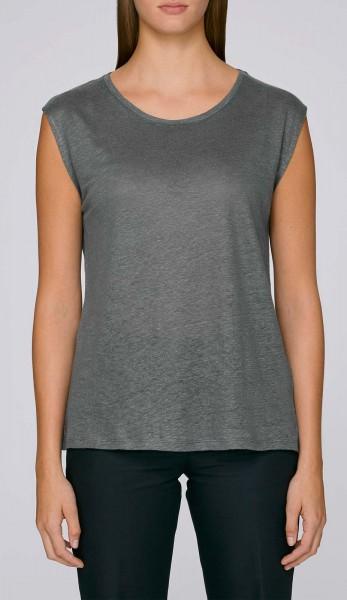 Sparkles Linen - T-Shirt aus Leinen - linen grey - Bild 1