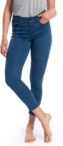 Light Jeans aus Bio-Baumwolle – dark denim