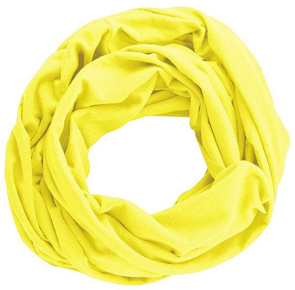 Unisex Schlauchschal aus Hanf und Bio-Baumwolle - citrus - Bild 1