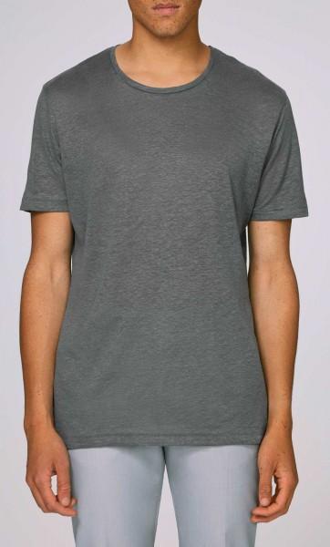 Enjoys Linen - T-Shirt aus Leinen - linen grey - Bild 1