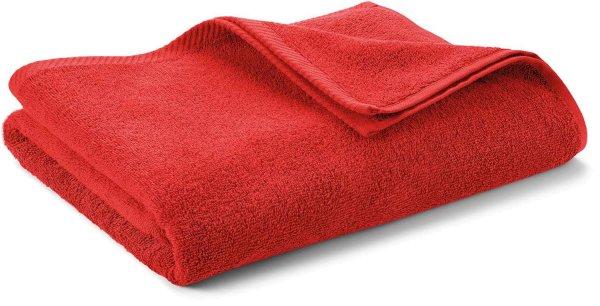 Badetuch aus Bio-Baumwolle 140x70 cm - red clay