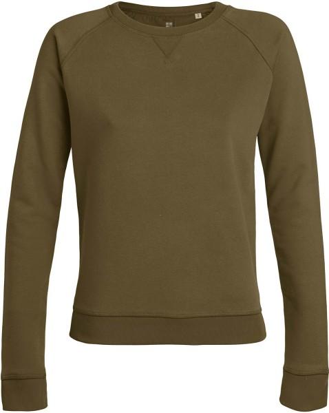 Sweatshirt Bio-Baumwolle - british khaki